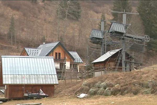 La petite station familiale du Granier en Savoie.