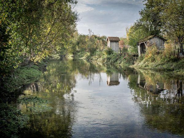 Frédéric Debilly propose aussi quelques clichés en couleur comme ici à Laferté-sur-Aube