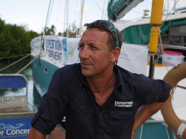 """Patrick Deixonne, fondateur de l'association """"l'expédition 7e continent"""""""