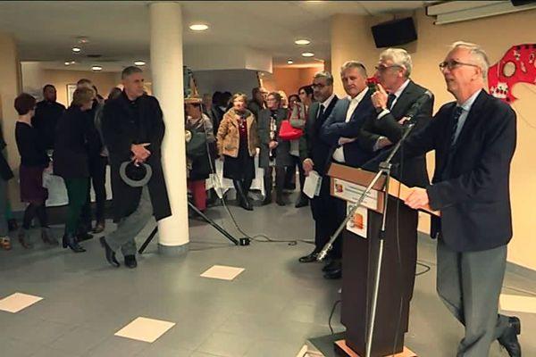 Le lendemain du grand débat du Président de la République, c'était la présentation des voeux de la direction au personnel de l'hôpital de Bernay