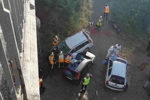 A Vic-le-Comte, l'accident du samedi 25 juillet a fait un blessé.