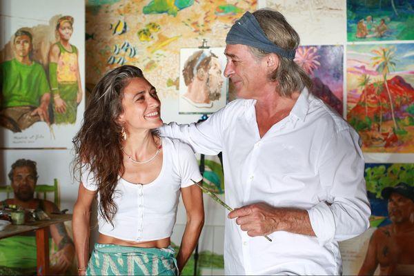 Titouan et Zoé Lamazou ont entamé leur voyage en 2018.