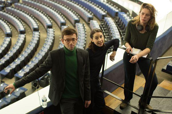 """""""Parlement"""", une comédie politique en 10 épisodes tourné à Strasbourg et Bruxelles"""