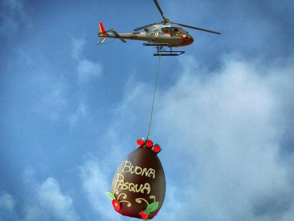 """Costigliol de Asti vuole un elicottero nel cielo """"Buona Pasqua"""" Ai nostri vicini piemontesi"""