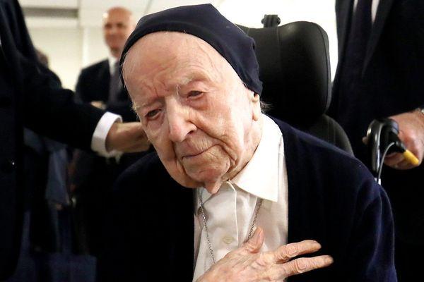 Soeur André a fêté ses 116 ans ce 11 février 2019.
