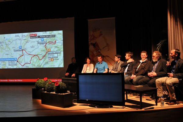 Le parcours du 16ème Tour des Pays de Savoie a été dévoilé ce vendredi 25 avril, au Manège, à Chambéry