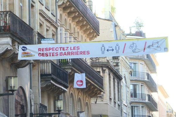 Le masque reste obligatoire en centre-ville de Bordeaux.