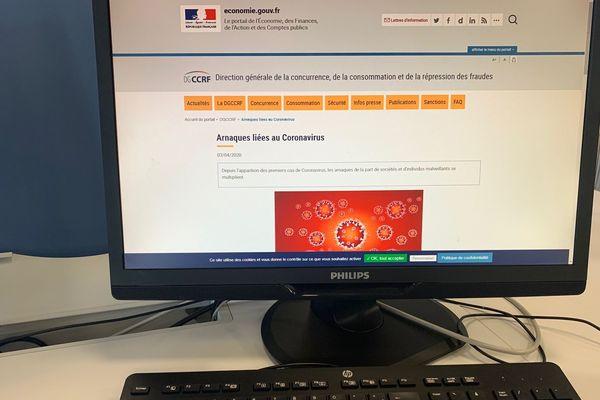 Sur internet, depuis le début de l'épidémie de coronavirus de plus en plus d'arnaques fleurissent - avril 2020