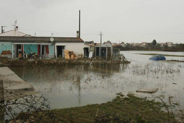 Charron au lendemain de la tempête, le 1e mars 2010