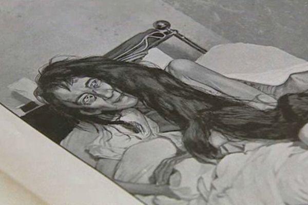 """Dessin de presse paru en 1901 pour illustrer l'affaire de """"La séquestrée de Poitiers"""""""