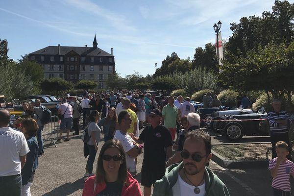 Festival Bugatti à Molsheim, le public au rendez-vous