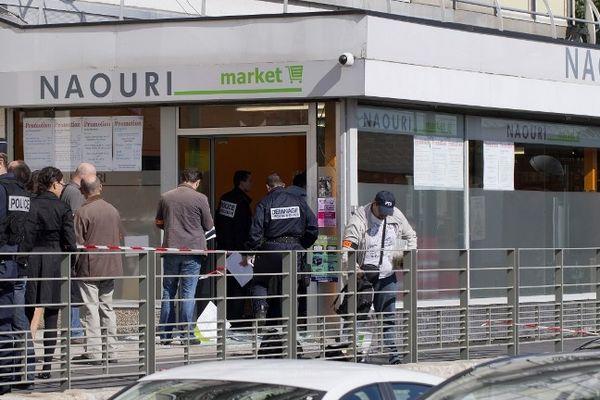 Un engin explosif a fait un blessé dans cette attaque d'une épicerie casher à Sarcelles (Val d'Oise).