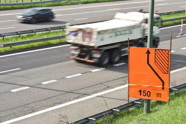 Des travaux perturbent la circulation sur l'A490 et l'échangeur de Rondeau, en agglomération grenobloise. Photo d'illustration