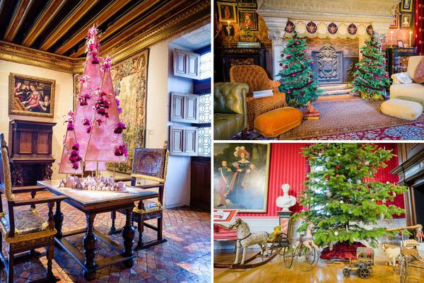 Les châteaux de la Loire préparent leur nouvelle opération de Noël
