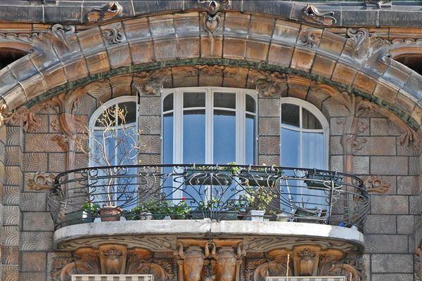 Immeuble Art nouveau de Jules Lavirotte à Paris, primé en 1901 au concours des façades.