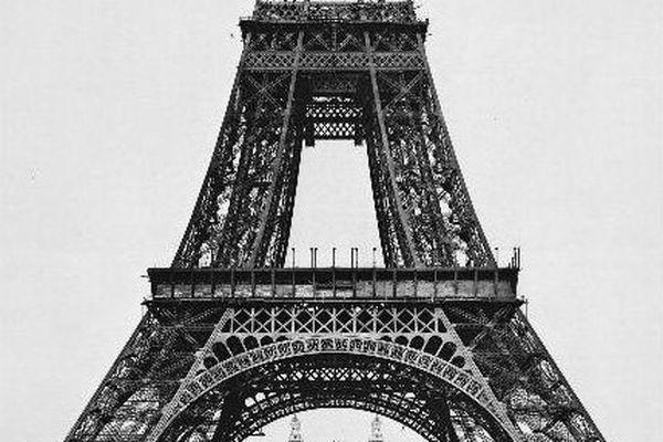 21 août 1888 : montage de la deuxième plate-forme