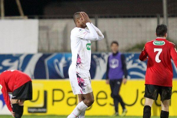 Carlos Henrique lors de la rencontre Ile Rousse (FBIR) vs Bordeaux (FCGB), le 22 janvier 2014
