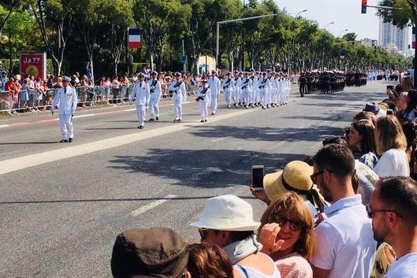 Le défilé du 14 juillet 2018 à Marseille