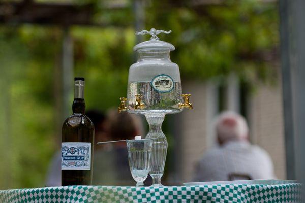 L'absinthe produite dans le Haut-Doubs.