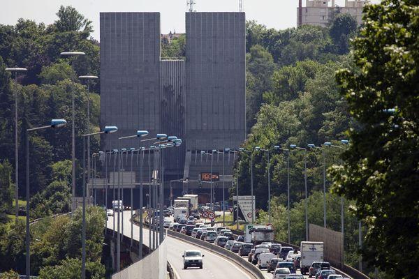 Le Tunnel de Fourvière : l'anneau des sciences devrait permettre aux automobilistes de l'éviter pour traverser Lyon
