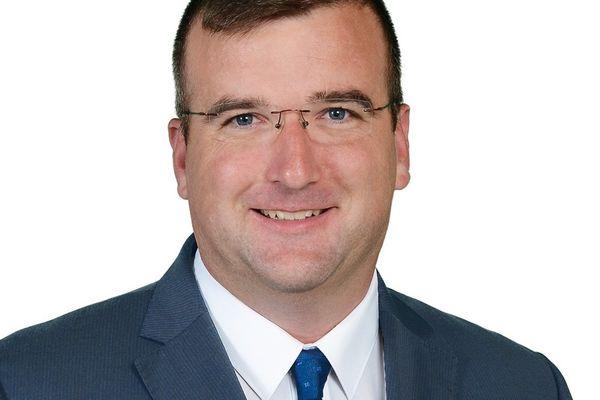 Grégoire de Fournas, viticulteur dans le Médoc, élu RN au département de la Gironde et tête de liste du parti d'extrême-droite pour les élections de 2021.
