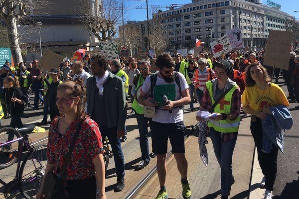 La mobilisation continue pour le Climat, à Clermont-Ferrand, samedi 16 mars.