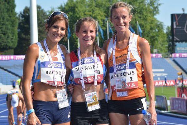 10 km marche Emilie Menuet (AJ Blois-onzain): 1ere Corinne Baudoin (Montpellier Agglo Atletic Med) : 2eme Violaine Averous (Ca Balma) : 3eme