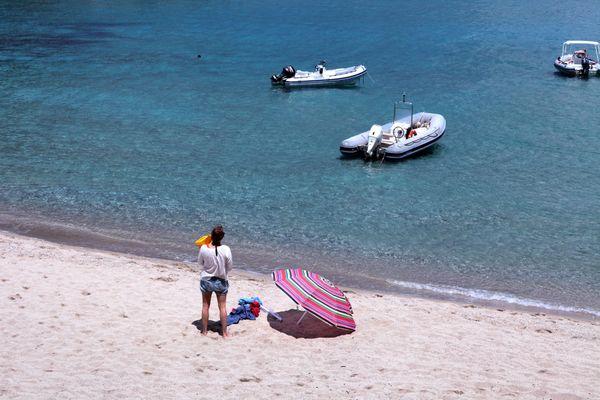ILLUSTRATION. La plage Cala Luna, en Sardaigne.