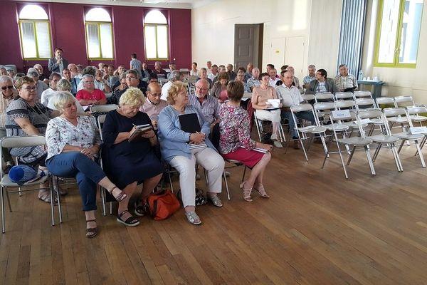 L'assemblée des maires de Creuse - 14/09/18 -
