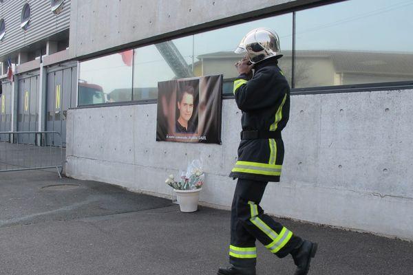 Un hommage rendu à Aurélie Salel, en mars 2015.