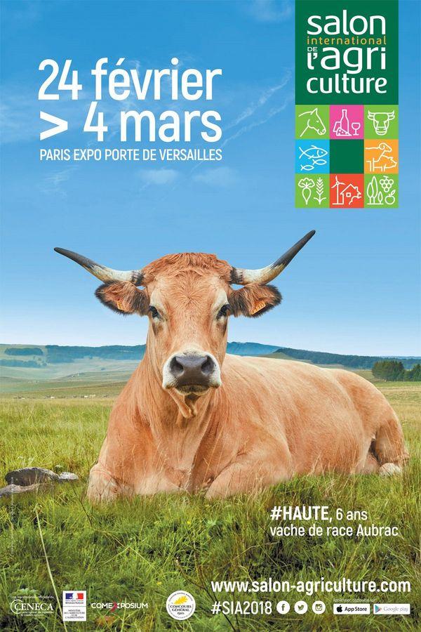 L'affiche du Salon de l'agriculture 2018