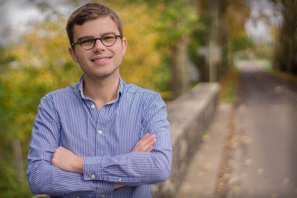 Dylan Demarche, plus jeune maire de Bourgogne-Franche-Comté