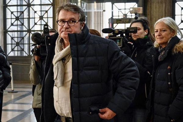 Paul François à son arrivée à la cour d'appel de Lyon le 6 février 2019.