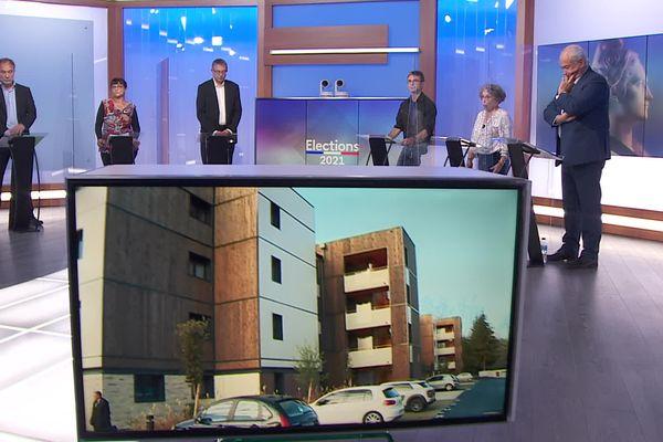 Débat du 7 juin 2021 pour les élections départementales dans les Pyrénées-Atlantiques