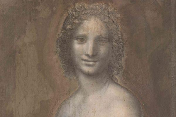 """La """"Joconde nue"""", ancienne propriété d'Henri d'Orléans, aurait bien été en partie réalisée par De Vinci."""