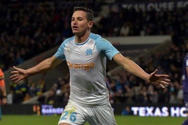 Florian Thauvin a inscrit les deux derniers buts marseillais en fin de rencontre