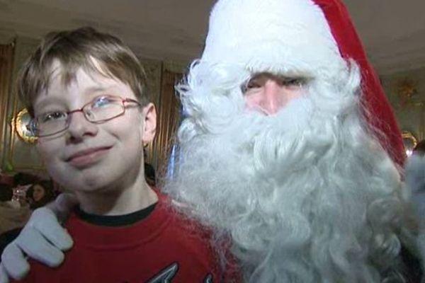 Maxime et le père Noël