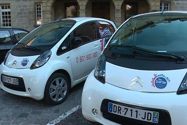 Dans la commune de Brive 10% du parc automobile est électrique.