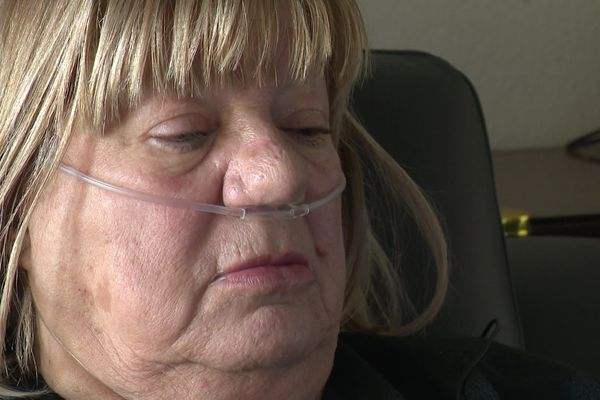 Cela fait deux ans et demi que Josette respire avec l'aide d'une machine - janvier 2020