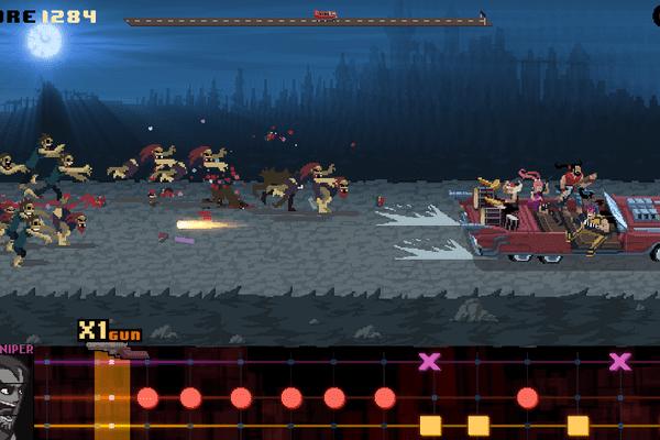 Le jeu toulousain Double Kick Heroes – Capture écran
