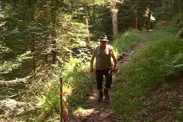 Prudence sur les chemins de montagne