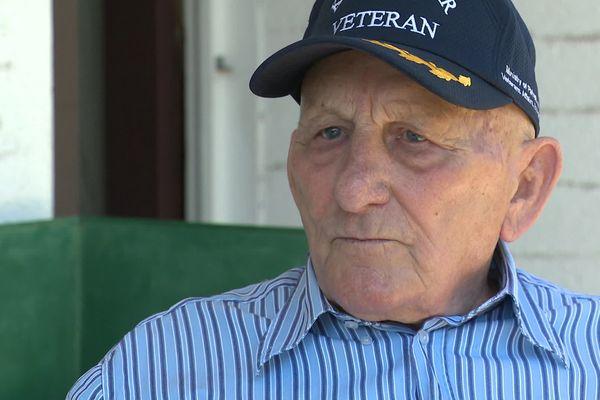 Michel Ozwald, ancien vétéran de la guerre de Corée
