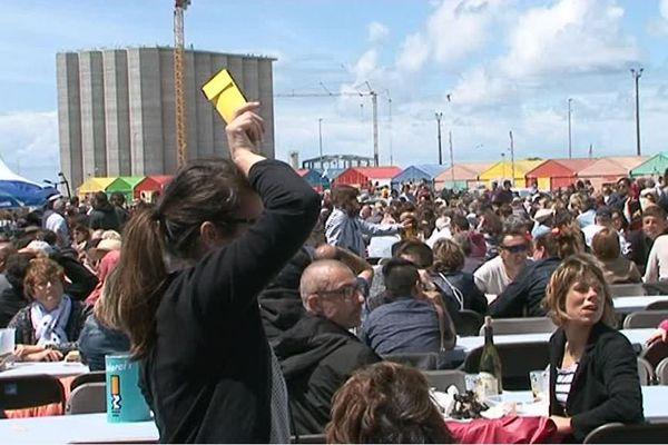 Beaucoup de monde à la Fête du Port de La Rochelle ce samedi.