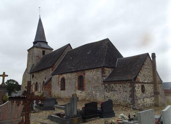 L'église de Faty, dans l'Aisne.