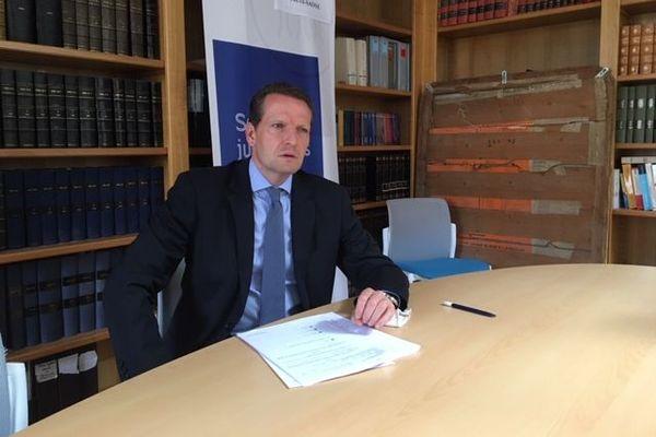 Emmanuel Dupic, le Procureur de la République de la Haute-Saône