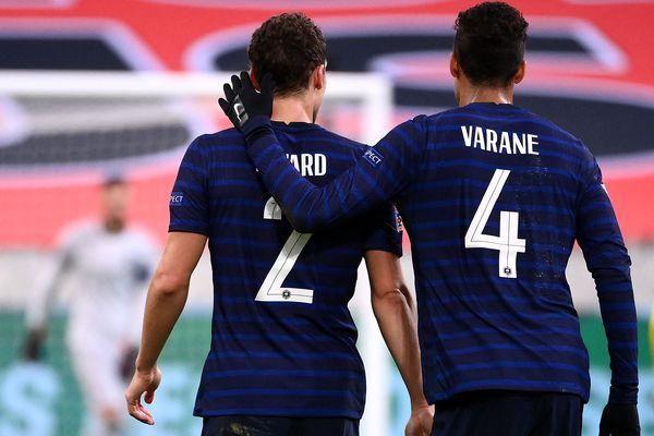 Benjamin Pavard, né à Maubeuge et Raphaël Varane, natif de Lille, font partie de l'équipe de France pour cet Euro 2020.