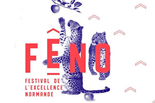 """Visuel de l'édition 2021 de FENO,  le """"Festival de l'Excellence NOrmande"""""""