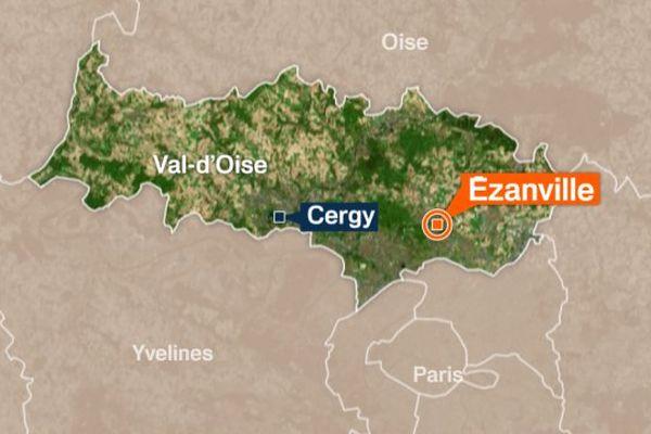 Ezanville, dans le Val-d'Oise.