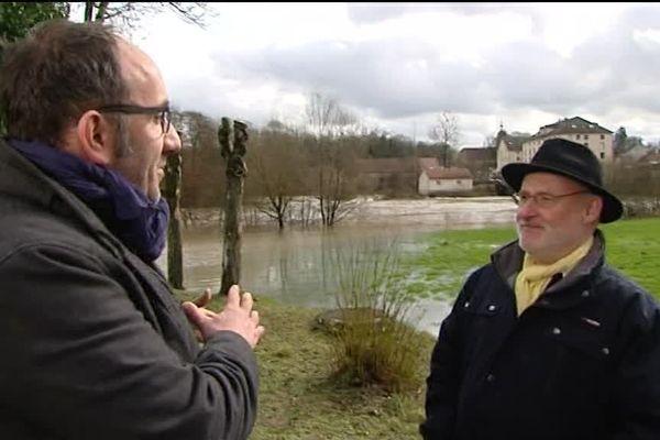 Frédéric Buridant nous fait découvrir Port-sur-Saône à une dizaine de kilomètres de Vesoul