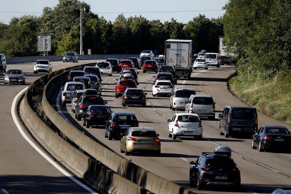La circulation s'annonce particulièrement chargée sur l'A9 - 10.07.21